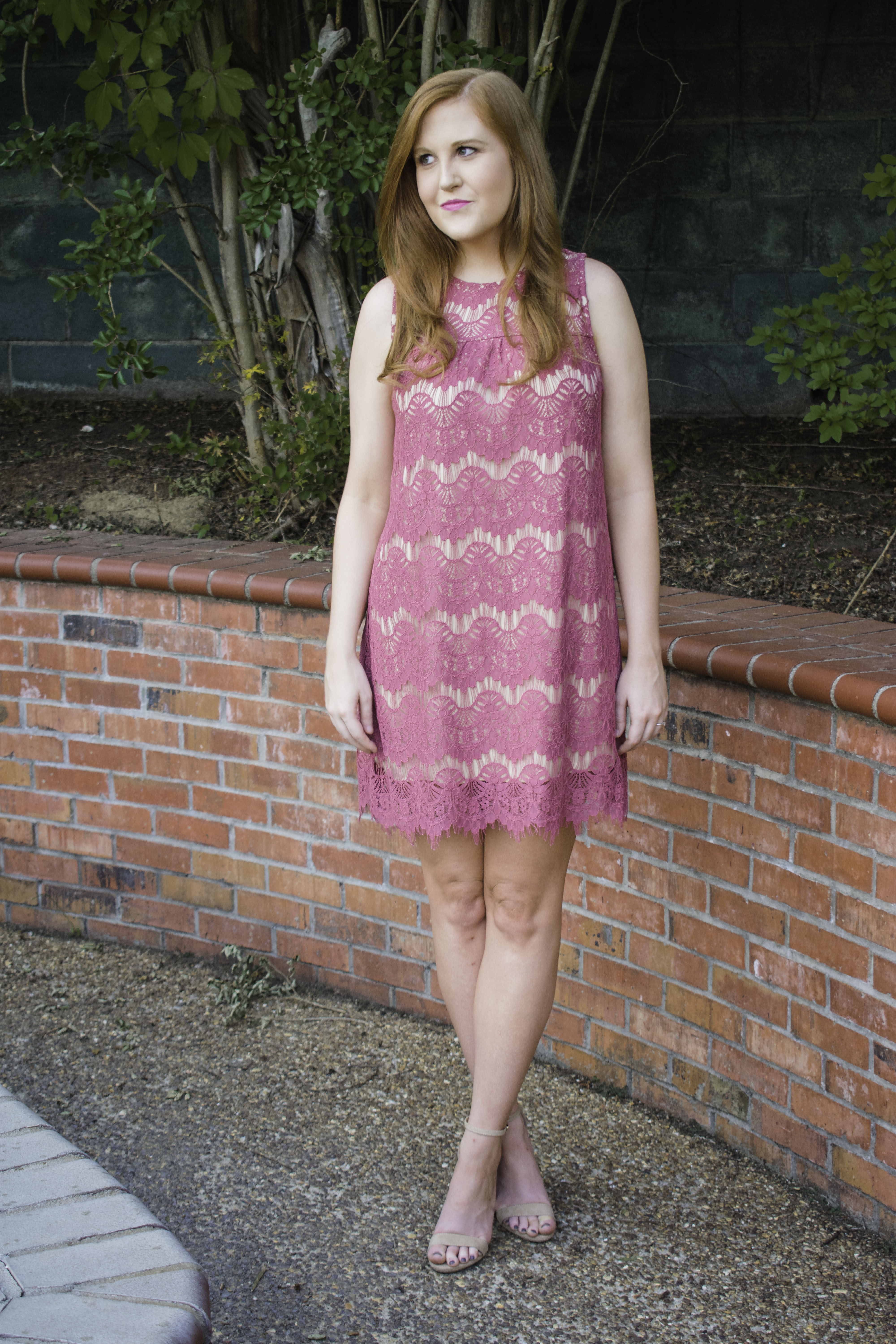 The Perfect Wedding Guest Dress - The Trendy Redhead